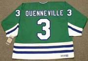 JOEL QUENNEVILLE 1986 Away CCM Hartford Whalers Jersey - BACK