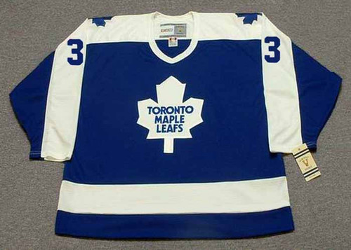 JOEL QUENNEVILLE Toronto Maple Leafs 1978 Away CCM Throwback Hockey Jersey - FRONT