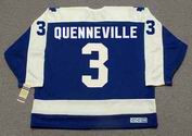 JOEL QUENNEVILLE Toronto Maple Leafs 1978 Away CCM Throwback Hockey Jersey - BACK