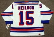 JIM NEILSON New York Rangers 1972 CCM Throwback Home NHL Hockey Jersey
