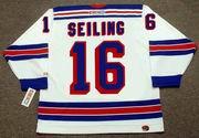 ROD SEILING New York Rangers 1972 CCM Throwback Home Hockey Jersey