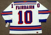 BILL FAIRBAIRN New York Rangers 1972 CCM Throwback Home Hockey Jersey