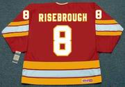 DOUG RISEBROUGH Calgary Flames 1985 CCM Vintage Throwback NHL Hockey Jersey