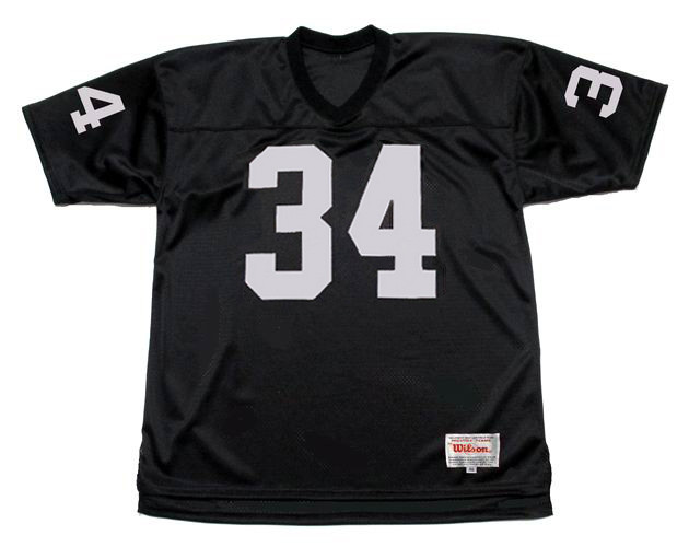 BO JACKSON Los Angeles Raiders 1987 Home Throwback NFL Football Jersey