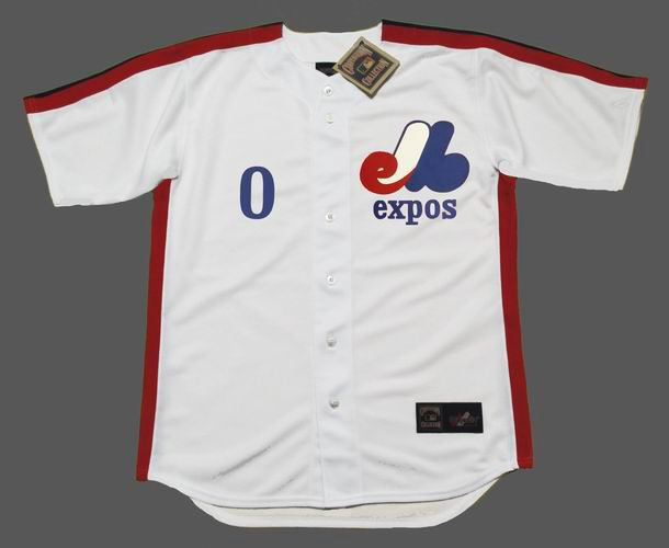 fc7d8d570 Al Oliver Jersey - Montreal Expos 1982 Home Throwback MLB Baseball Jersey