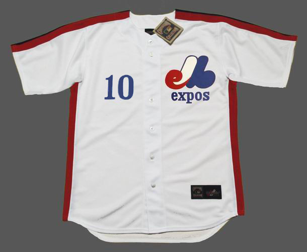 cheap for discount e058d ea414 ANDRE DAWSON Montreal Expos 1981 Home Majestic Throwback Baseball Jersey