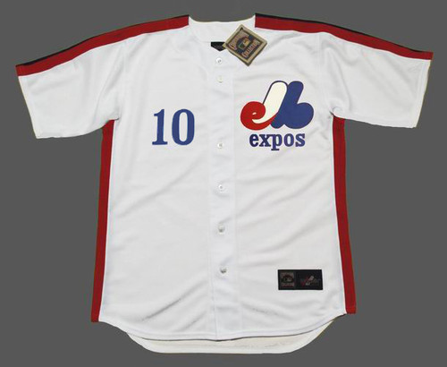 ANDRE DAWSON 1981 Home Majestic Baseball Montreal Expos Jersey - FRONT