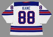 PATRICK KANE 2010 USA Nike Olympic Throwback Hockey Jersey