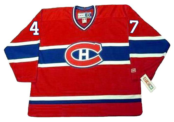 various colors 1e68a adfc8 STEPHAN LEBEAU Montreal Canadiens 1990 CCM Throwback Away NHL Hockey Jersey