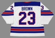 DUSTIN BROWN 2014 USA Nike Olympic Throwback Hockey Jersey