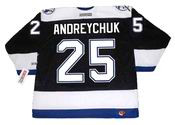 Dave Andreychuk 2004 Tampa Bay Lightning NHL Throwback Home Jersey - BACK