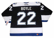 Dan Boyle 2004 Tampa Bay Lightning NHL Throwback Home Jersey - BACK