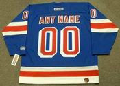 "NEW YORK RANGERS 1970's CCM Throwback Away Jersey Customized ""Any Name & Number(s)"""