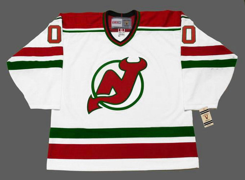 d5fb87a6103 NEW JERSEY DEVILS 1980's CCM Vintage Home Jersey Customized