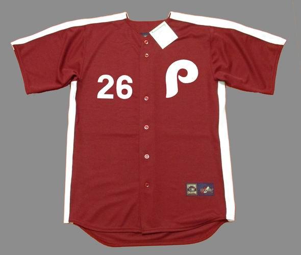online retailer 936b8 38929 CHASE UTLEY Philadelphia Phillies 1979 Majestic Cooperstown Throwback Jersey
