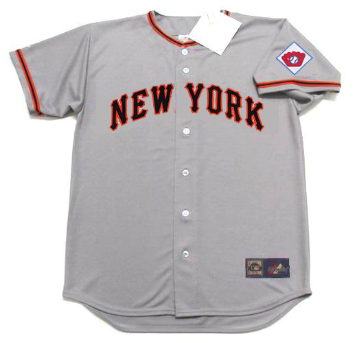 reputable site 3d85c 0f4ff MONTE IRVIN New York Giants 1951 Majestic Throwback Away Baseball Jersey