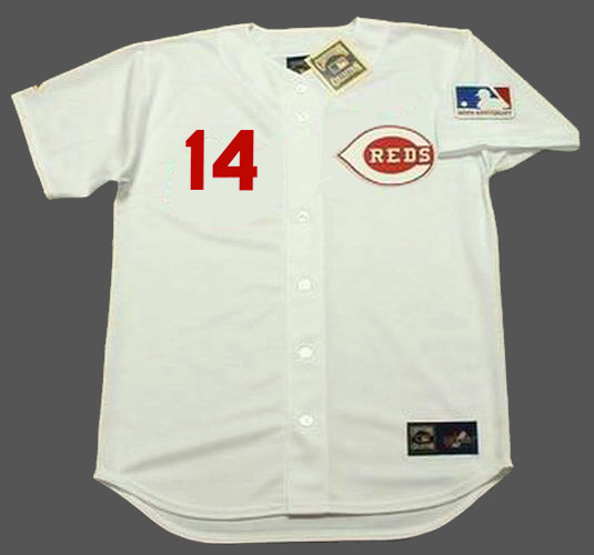 competitive price 73bc7 a57d9 PETE ROSE Cincinnati Reds 1969 Home Majestic Throwback Baseball Jersey