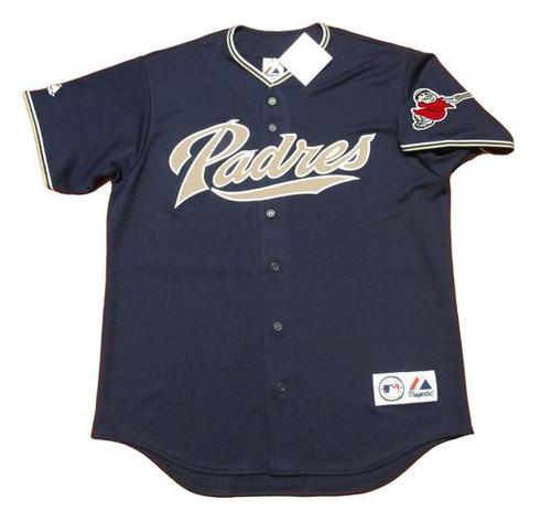 ADRIAN GONZALEZ San Diego Padres 2009 Alternate Majestic Retro Baseball Jersey - FRONT