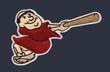ADRIAN GONZALEZ San Diego Padres 2009 Alternate Majestic Retro Baseball Jersey - SLEEVE CREST