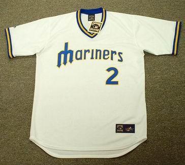 buy popular c630c 85d65 KENJI JOHJIMA Seattle Mariners Majestic Cooperstown Throwback Baseball  Jersey