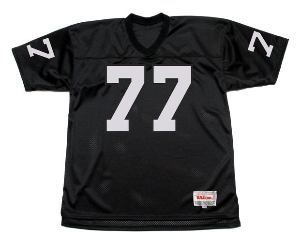1d1f288e03a LYLE ALZADO Los Angeles Raiders 1983 Home Throwback NFL Football Jersey -  BACK. See 3 more pictures