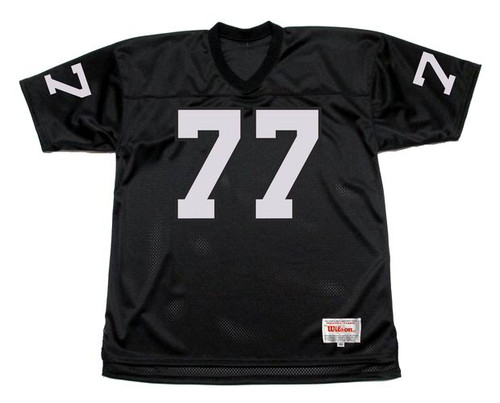 LYLE ALZADO Los Angeles Raiders 1983 Home Throwback NFL Football Jersey - FRONT