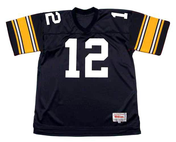 TERRY BRADSHAW Pittsburgh Steelers 1979 Throwback Home NFL Football Jersey
