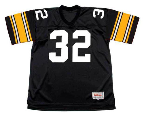 FRANCO HARRIS Pittsburgh Steelers 1979 Throwback Home NFL Football Jersey - FRONT