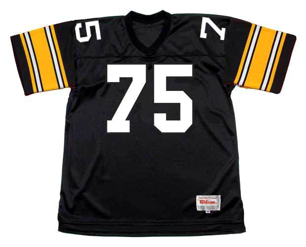 2b8bf45f4 JOE GREENE Pittsburgh Steelers 1979 Home NFL Football Throwback Jersey -  BACK. See 4 more pictures