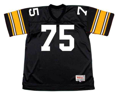 JOE GREENE Pittsburgh Steelers 1979 Home NFL Football Throwback Jersey - FRONT