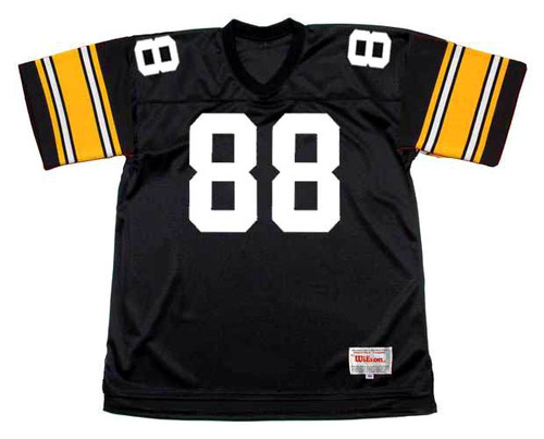 LYNN SWANN Pittsburgh Steelers 1979 Throwback Home NFL Football Jersey - FRONT