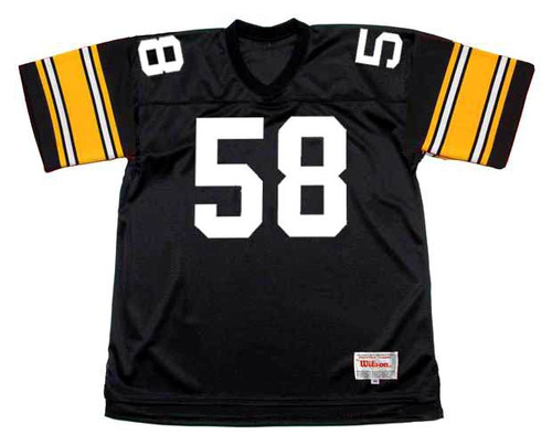 JACK LAMBERT Pittsburgh Steelers 1979 Throwback Home NFL Football Jersey - FRONT