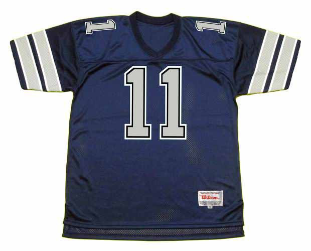 5605ea5b340 DANNY WHITE Dallas Cowboys 1985 Throwback NFL Football Jersey - BACK. See 3  more pictures