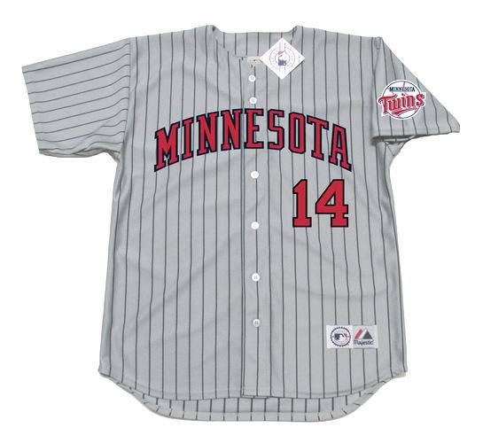 cbdf3679 MAJESTIC | KENT HRBEK Minnesota Twins 1991 Throwback Baseball Jersey
