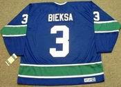 KEVIN BIEKSA Vancouver Canucks 1970's CCM Vintage Throwback NHL Hockey Jersey