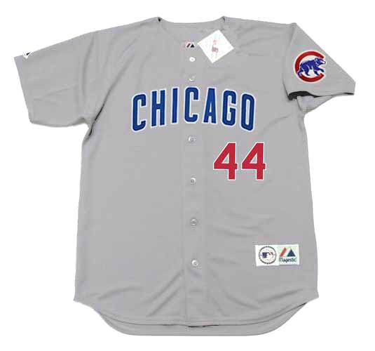 finest selection 34a96 0a5c9 ANTHONY RIZZO Chicago Cubs 2016 Away Majestic Throwback Baseball Jersey