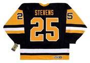 KEVIN STEVENS Pittsburgh Penguins 1992 CCM Vintage Away NHL Hockey Jersey