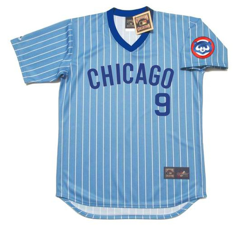 JAVIER BAEZ Chicago Cubs 1980's Majestic Baseball Cooperstown Throwback Jersey - FRONT