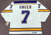 GARRY UNGER St. Louis Blues 1972 CCM Vintage Throwback Away NHL Hockey Jersey