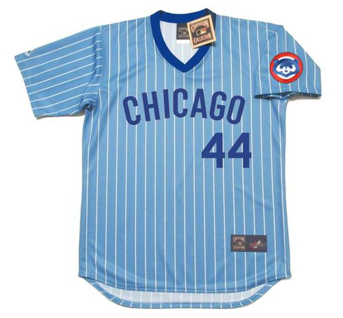 Anthony Rizzo 1980's Chicago Cubs Majestic MLB Throwback Jersey - FRONT