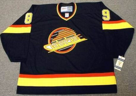 6b9e8e8f8 ... ALEXANDER MOGILNY Vancouver Canucks 1996 CCM Vintage Throwback Hockey  Jersey. Image 1. Image 2. Image 3. Image 4. See 3 more pictures