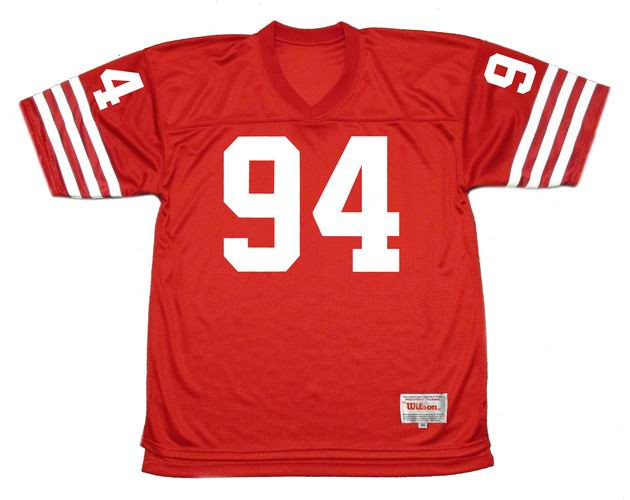 CHARLES HALEY San Francisco 49ers 1988 Throwback Home NFL Football Jersey