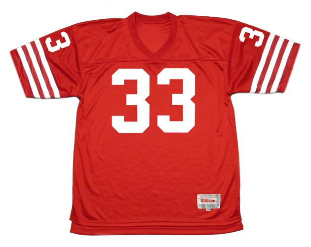ROGER CRAIG San Francisco 49ers 1988 Throwback Home NFL Football Jersey