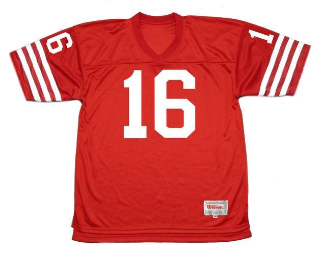 JIM PLUNKETT San Francisco 49ers 1977 Throwback Home NFL Football Jersey