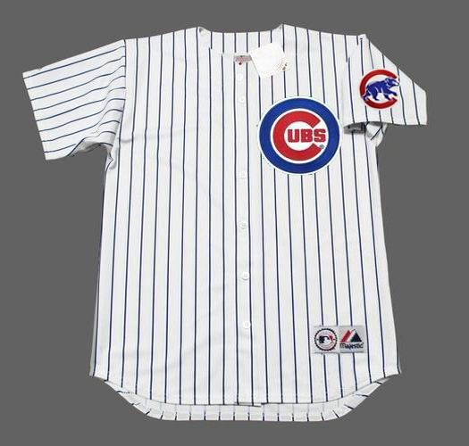 best service d289b a4ab5 AROLDIS CHAPMAN Chicago Cubs 2016 Home Majestic Throwback Baseball Jersey
