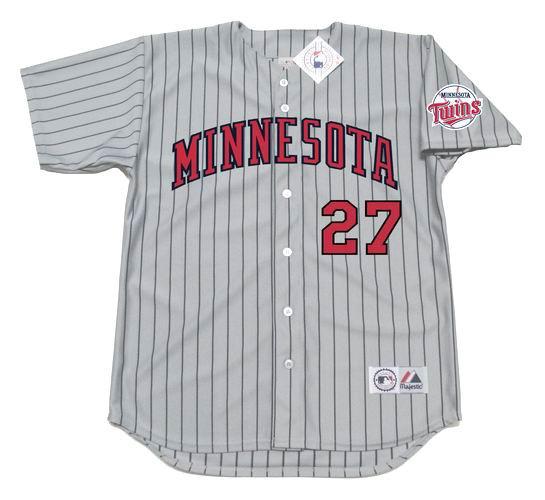 wholesale dealer 0171f 34c54 DAVID ORTIZ Minnesota Twins 2002 Majestic Throwback Away Baseball Jersey