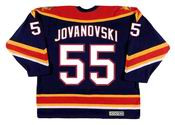 ED JOVANOVSKI Florida Panthers 1998 CCM Vintage Throwback NHL Hockey Jersey