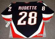 DONALD AUDETTE Buffalo Sabres 1997 CCM Throwback NHL Jersey
