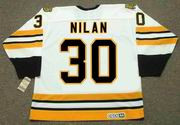 CHRIS NILAN Boston Bruins 1990 CCM Vintage Throwback Home NHL Hockey Jersey