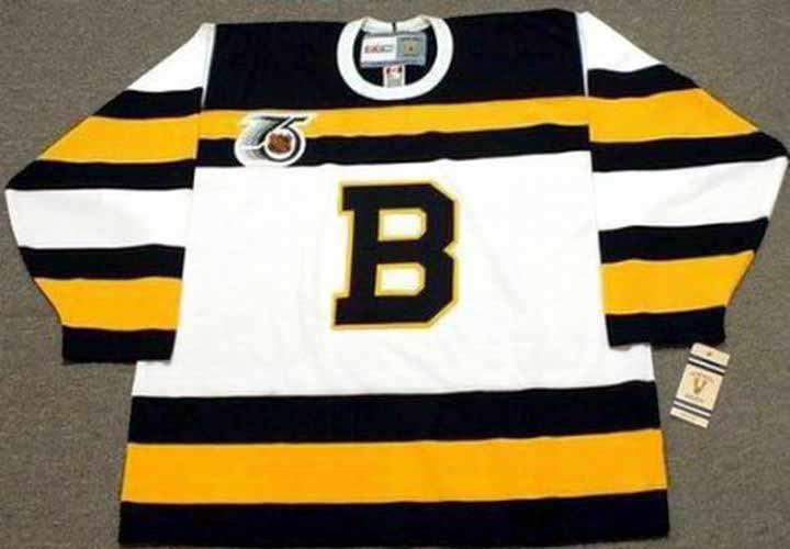 CHRIS NILAN Boston Bruins 1992 CCM Vintage Throwback Home NHL Hockey ... e895dc2b7